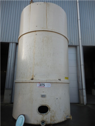 Used Vertical storage tank carbon steel, inside coating epoxy