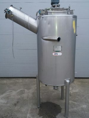 Tank stainless steel with agitator