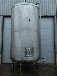 Vertical tank SS304 with heating coil