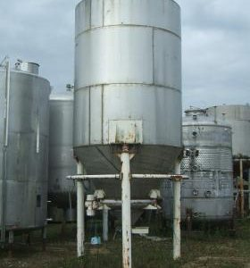 17,910 Litre, Mild Steel, Vertical Base Tank