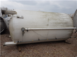 Double walled used steel fuel tank