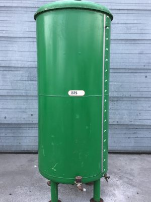 Uesd steel tank with  coating 1600L
