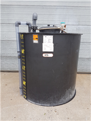 Used PE tank double wall, leak detection