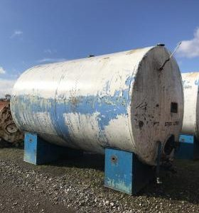 27,000 Litre, Mild Steel, Horizontal Base Tank