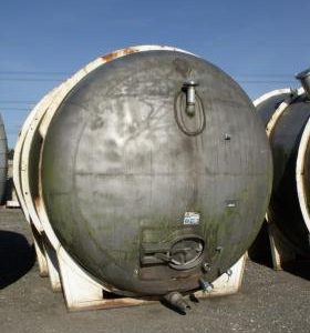 19,620 Litre, Mild Steel, Horizontal Base Tank