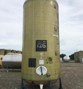 20,000 Litre, Mild Steel, Vertical Base Tank