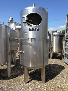 1,490 Litre, Mild Steel, Vertical Base Tank