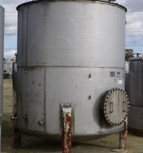 11,800 Litre, Mild Steel, Vertical Base Tank