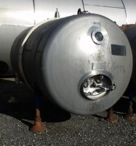 6,540 Litre, Mild Steel, Horizontal Base Tank