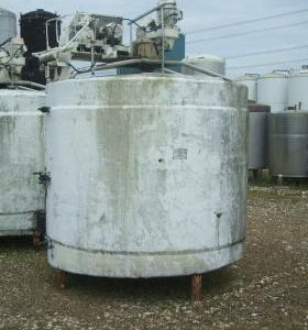 7,000 Litre, Mild Steel, Vertical Base Tank